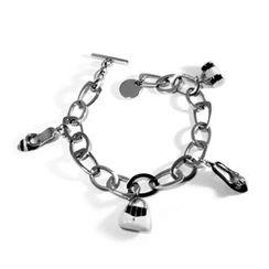 Kamsmak - Shoes and Bags Charm Bracelet