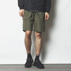 Mr.C studio - Sport Shorts with Reflective Stripe