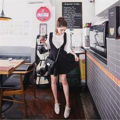 QNIGIRLS - A-Line Jumper Skirt