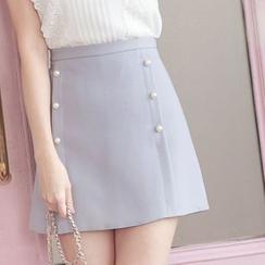 Tokyo Fashion - Beaded A-Line Skirt
