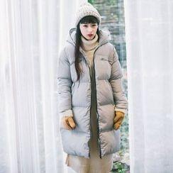Grazia - Padded Hooded Zip Coat