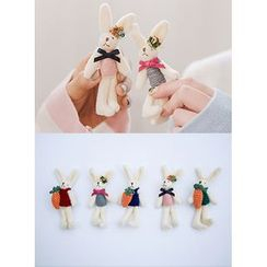 icecream12 - Rabbit Brooch