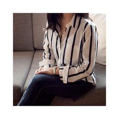 MASoeur - Long-Sleeve Stripe Shirt