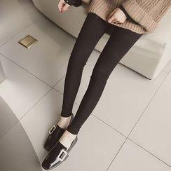 Cocofield - Plain Skinny Pants