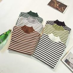 Honey House - Striped Knit Pullover