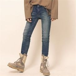 Superstar.i - Washed Slim-Fit Jeans