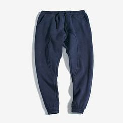 Dubel - Gather-Cuff Sweatpants