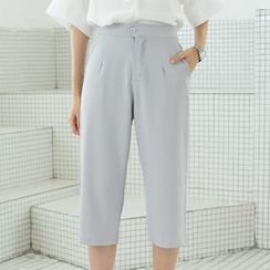Sens Collection - High-Waist Cropped Pants