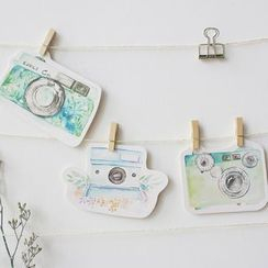Cute Essentials - Camera Print Postcard Set (30 pcs)