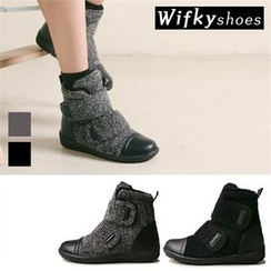 Wifky - Faux-Fur Fleece-Lined Ankle Boots