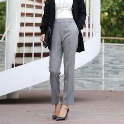 Seoul Fashion - Straight-Cut Dress Pants
