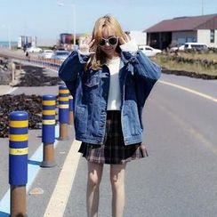 YUKISHU - Oversized Denim Jacket
