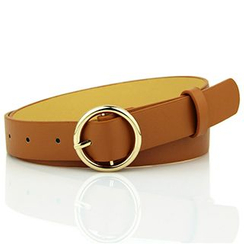 Follow Me - Faux Leather Belt