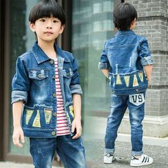 Pegasus - Kids Set: Denim Jacket + Jeans