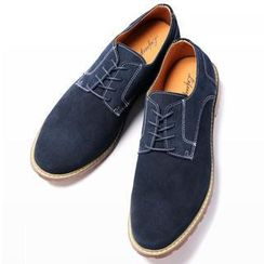 Life 8 - Genuine-Leather Oxfords