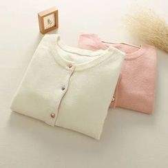 Mushi - Round Neck Cardigan