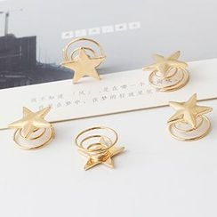Oohlala! - Star Spiral Hair Pin