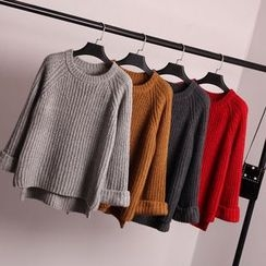 Pecora - Plain Chunky Sweater