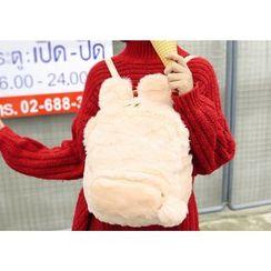 Sweet City - Plain Furry Backpack