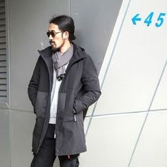 YIDESIMPLE - Hooded Down Coat