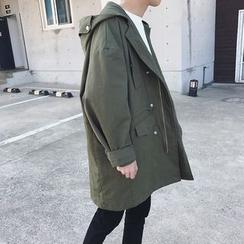 JUN.LEE - Hooded Utility Jacket