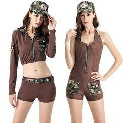 Gembeads - Army Party Costume
