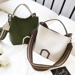 Velocia - Faux Leather Hand Bag