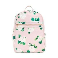 LIFE STORY - Floral Canvas Backpack