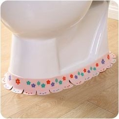 Good Living - Printed Toilet Foldable Sticker