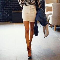 REDOPIN - Cotton Miniskirt