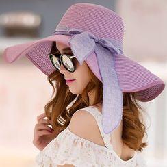 LS.SPRING - Straw Sun Hat