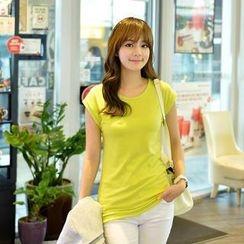 CLICK - Cap-Sleeve T-Shirt