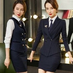 Aision - Blazer / Pencil Skirt / Slim-Fit Pants