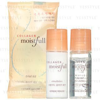 Moistfull Collagen Trial Kit: Freshener 5ml + Emulsion 5ml