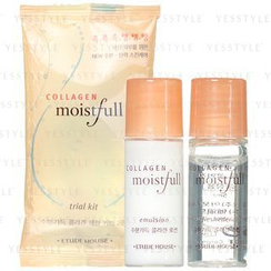 Etude House - Moistfull Collagen Trial Kit: Freshener 5ml + Emulsion 5ml