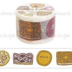 Aimez le style - Aimez le style Masking Tape Primaute Wide Biscuits