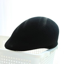 EVEN - Plain Woolen Flat Cap