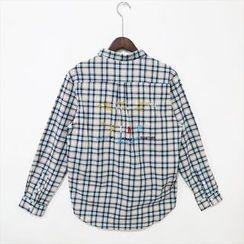 蔡先生 - 格纹衬衫