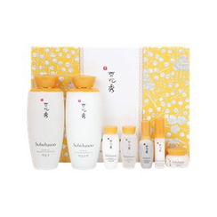 Sulwhasoo - Balancing Skin Care Set: Water EX 125ml + Emulsion EX 125ml + Water EX 15ml + Emulsion EX 15 ml + Essence 8ml + Cream 5ml + Eye Cream 3.5ml