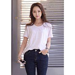 DEEPNY - Short-Sleeve Cotton T-Shirt