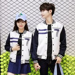 CASSY - Couple Matching Baseball Jacket