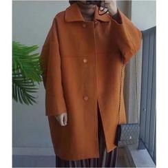 Oaksa - Long Woolen Coat