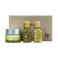 BEYOND - True Eco Wrinkle Cream Special Set: Wrinkle Cream 55ml + Organic Toner 35ml + Emulsion 35ml