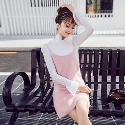 Tang House - Bell-Sleeve Knit Top