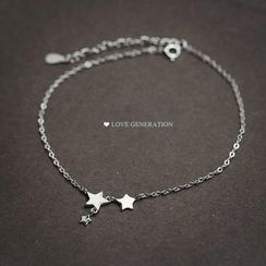 Love Generation - Star Anklets
