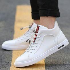Ireoul - 仿皮系带休閒鞋