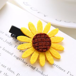 Aokuna - Sunflower Hair Tie / Hair Clip / Brooch