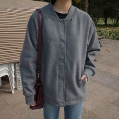 Eva Fashion - 针织棒球夹克