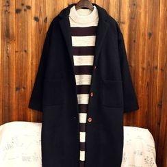 tete - 夾棉長大衣