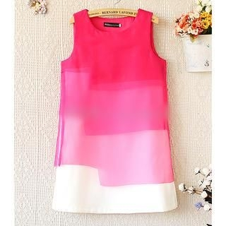 Munai - Gradient Layered Sleeveless Top